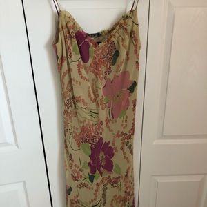 A.B.S dress with spaghetti straps